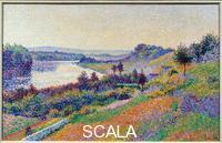 Luce, Maximilien (1858-1941) La seine a Herblay (Val-d'Oise), 1890