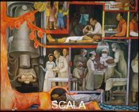 Rivera, Diego (1886-1957) Storia della Medicina. Applicazione della