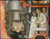 Rivera, Diego (1886-1957) Storia della Medicina. Applicazioni delle Radiazioni al Cobalto.