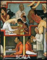 Rivera, Diego (1886-1957) Storia della Medicina. Vaccinazioni preventive. Studio Mioelettrico. Elettroencefalogramma.
