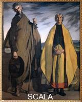 Zuloaga, Ignacio (1870-1945) Two peasants