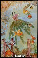 Cornell, Joseph (1903-1972) Untitled (Marine Fantasy with Tamara Toumanova). Early 1940s