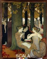 Denis, Maurice (1870-1943) The Muses, 1893