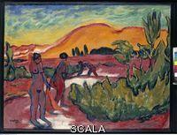 Pechstein, Max (1881-1955) Summer in the Dunes, 1911