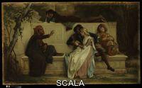 Cabanel, Alexandre (1823-1889) Florentine Poet. 1861