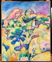 Braque, Georges (1882-1963) Landscape at La Ciotat, 1907