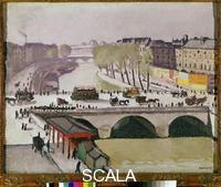Marquet, Albert (1875-1947) The Pont Saint-Michel at Paris
