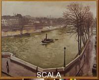 Marquet, Albert (1875-1947) The Seine in Paris