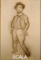 Anquetin, Louis (1861-1932) Portrait of Toulouse-Lautrec