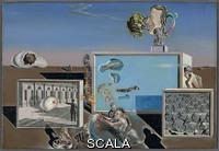 Dali', Salvador (1904-1989) Piaceri illuminati, 1929