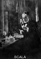 Edelfelt, Albert (1854-1905) Pasteur (1822-1895)  En Su Laboratorio - Original Oleo De A. Edelfelt (Mus. Orsay). Author: Edelfelt, Albert. Location: Private Collection, Madrid, Spain.