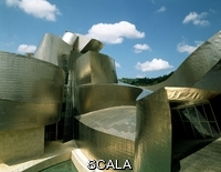Gehry, Frank O. (1929-) Exterior Del Museo - 1992-97. Author: Gehry, Frank. Location: Guggenheim Museum, Biscay, Spain.