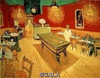 Gogh, Vincent van (1853-1890) The Night Cafe In Arles, 1888 - 70X89 Cm - Watercolour On Paper. Author: Van Gogh, Vincent. Location: Yale University Ary Gallery, New Haven-Connecticut. Also Known As: El Cafe Nocturno De La Place Lamartine De Arles.
