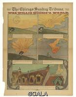 Feininger, Lyonel (1871-1956) Wee Willie Winkie's World, from The Chicago Sunday Tribune, September 16, 1906