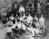******** Slade School of Art Picnic. c.1912.. c. 1912