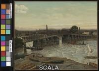 Greaves, Walter (1846-1930) Old Battersea Bridge. 1874