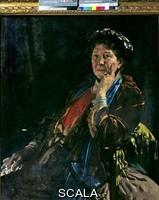 Orpen, William (1878-1931) Dame Madge Kendal. c.1927-8