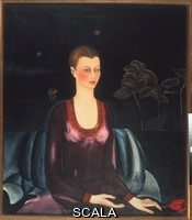 Kahlo, Frida (1907-1954) Portrait of Galicia Galant, 1927