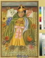 Kahlo, Frida (1907-1954) The deceased Dimas Rosas, 1937.