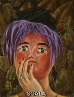 Kahlo, Frida (1907-1954) The Mask of Madness (La Mascara de la locura).
