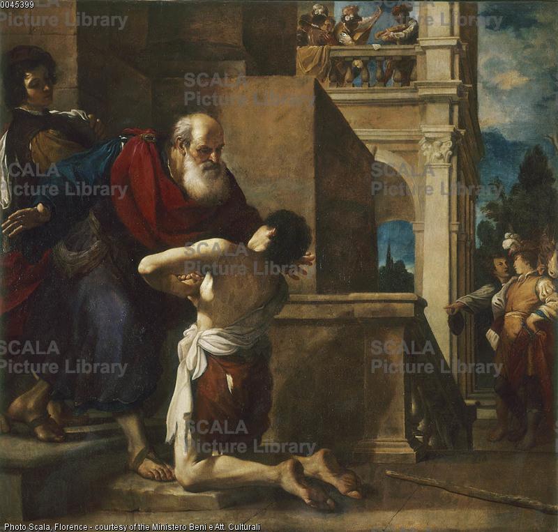 Guercino (Barbieri, Gianfrancesco detto 1591-1666) Il figliol prodigo