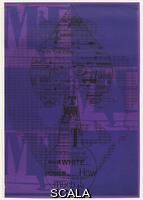 Ford, Charles Henri (1908/1913-2002) Senza titolo, da 'Poem Posters', 1964-65