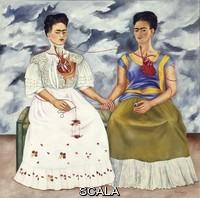 Kahlo, Frida (1907-1954) The two Fridas, 1939