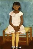 Kahlo, Frida (1907-1954) Retrato de muchacha / Ritratto di una ragazza. 1931.