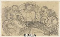 Boccioni, Umberto (1882-1916) Studio per 'La risata', 1910