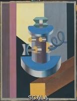 Depero, Fortunato (1892-1960) Robot con pipa, 1917-1920