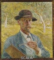 Claus, Emile (1849-1924) Self-Portrait