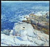 Hassam, Childe (1859-1935) The South Ledges, Appledore, 1913