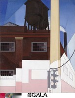 Demuth, Charles (1883-1935) ...And the Home of the Brave, 1931. The painting's title is the last line of