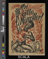 Pechstein, Max (1881-1955) Cover of To All Artists! (An alle Künstler!), 1919