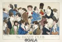 Dighton, Richard (1785-1880) 'The Dandy Club', London