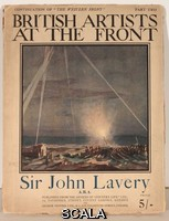 ******** Cover design, British Artists at the Front