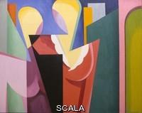 Magnelli, Alberto (1888-1971) Deux torses de femmes, 1917