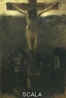 Previati, Gaetano (1852-1920) Crucifixion, 1890-1900