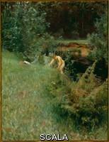 Zorn, Anders (1860-1920) Brook.