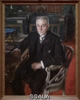 ******** Portrait d'Alfred Beurdeley (1847-1919), ebeniste d'art et collectionneur - peinture de Anders Zorn (1860-1920) Paris, musee d Orsay.