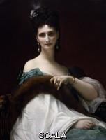 Cabanel, Alexandre (1823-1889) Portrait of Countess Keller, 1873