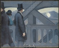 Caillebotte, Gustave (1848-1894) On the Pont de l'Europe. 1876-77.
