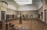 ******** International Art Exhibition (BIENNALE) in Venice. Exhibition Anders Zorn.  Italy. Postcard. 1907.