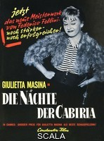 ******** Le Notti Di Cabiria Giulietta Masina. 1957. Strictly editorial use only. Credit line mandatory. Book cover use must be cleared with Mary Evans.