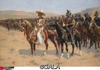 Remington, Frederic (1861-1909) The Mexican Major, 1889. Oil on canvas, 87 x 124.8 cm (34 1/4 x 49 1/8 in.). Signed, lower left: