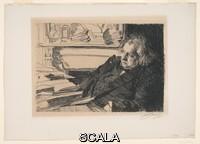Zorn, Anders (1860-1920) Ernest Renan, n.d. Etching. 9 1/8 x 13 1/4 in. (23.2 x 33.6 cm). Gift of Emeline Richardson. N. Inv. : 95.1.2