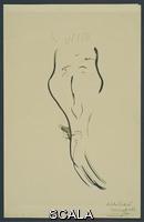 Signac, Paul (1863-1935) Caricature of Félix Fénéon, c. 1895-1896. Ink on paper, 12 1/4 x 7 7/8
