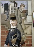 Grosz, George (1893-1959) Gray Day. 1921.