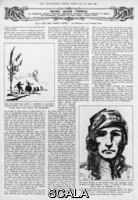 ******** Article by the Hon. Mrs Forbes Sempill (the step-daughter of Sir John Lavery), discussing the art of Pamela Colman Smith and her interpretative pictures made while listening to music.. 1927