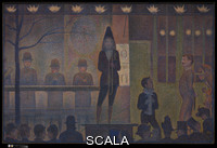 Seurat, Georges (1859-1891) Circus Sideshow, 1887-88